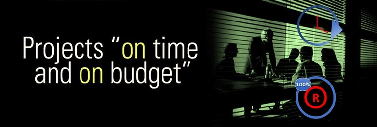 Project Management - Projects on time and on budget